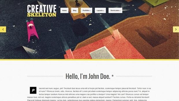 Creative Skeleton