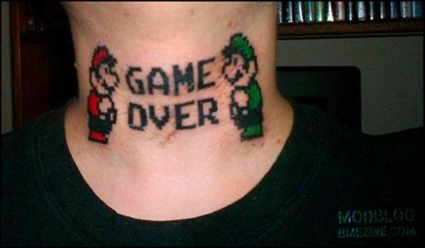 Games Tattoos (18)