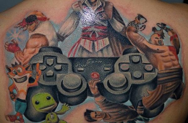 Games Tattoos (30)