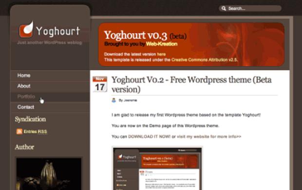 Yoghourt