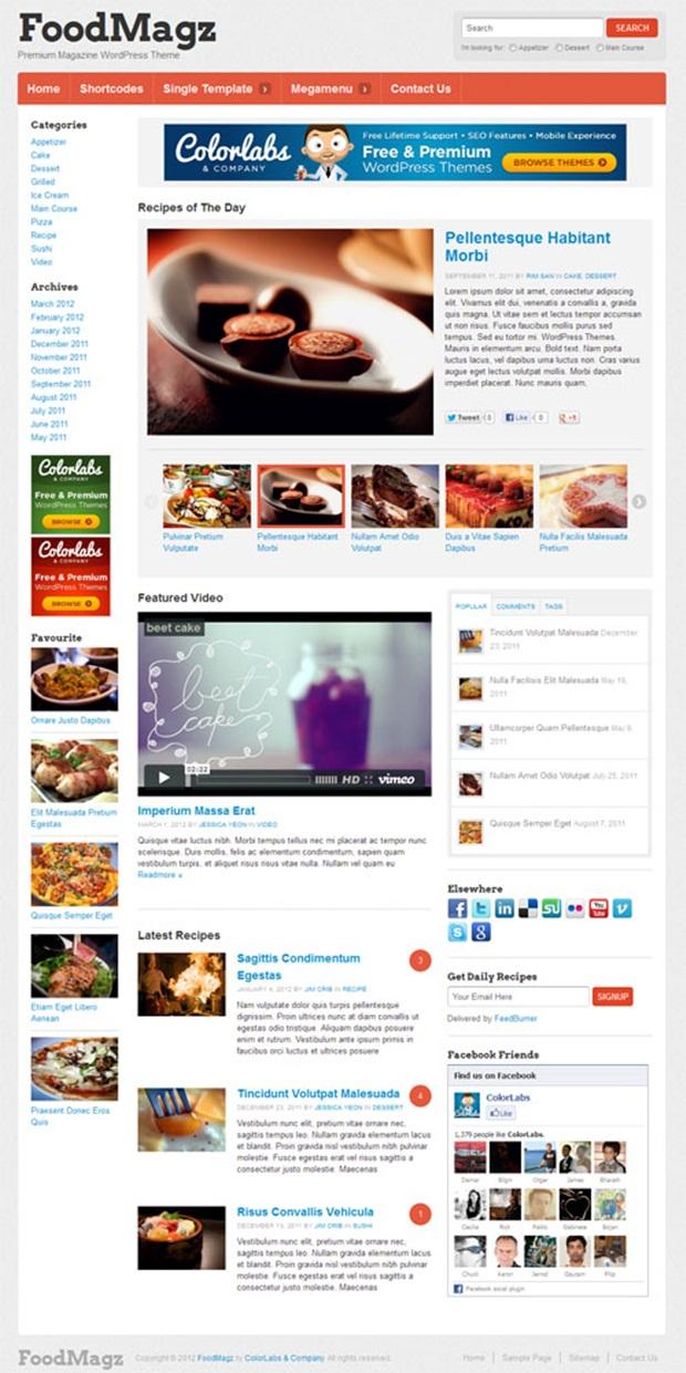 foodmagz-wordpress-theme