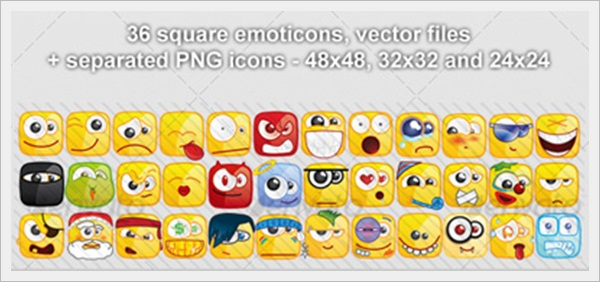 Smileys Foro 36-Square-emoticons-PACK