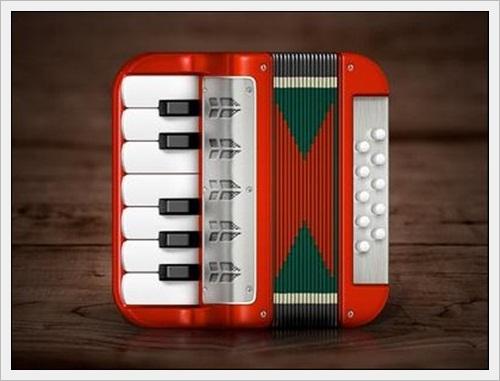 Accordion iOS Icon by Konstantin Datz