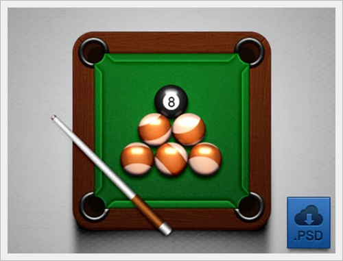 Billiards (Free PSD)