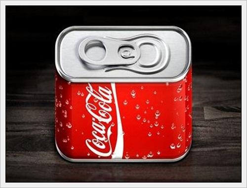 Cola iOS Icon by Konstantin Datz