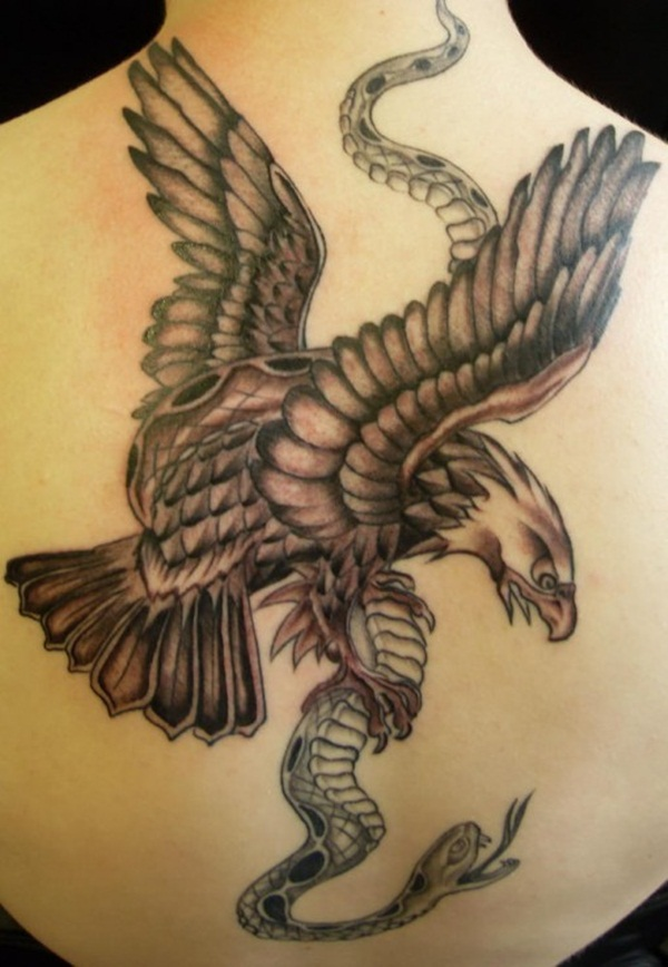 Here are 30 Eagle tattoo designs for tattoo lovers.enjoy the article ...