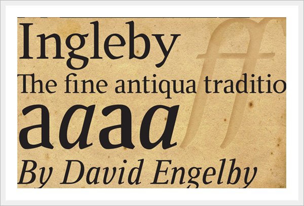 Ingelby Font