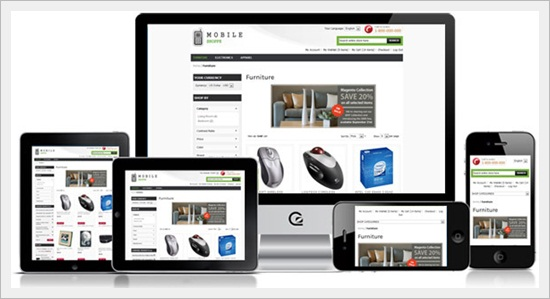 Mobile Shoppe – A Responsive Theme