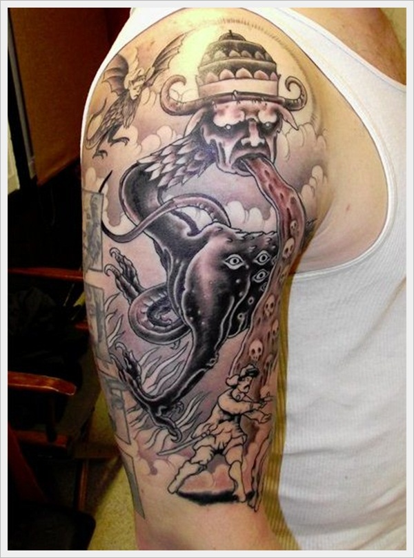 Mythological Tattoo Designs (50)