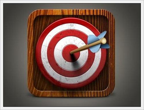 Target iOS App Icon by Mario Bieh