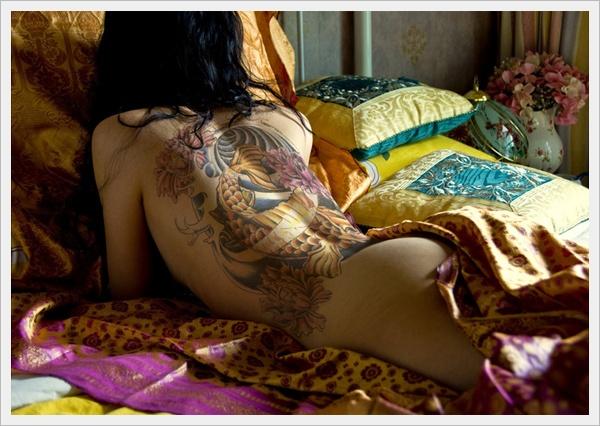 Tattoo Girls Back Tattoo Art