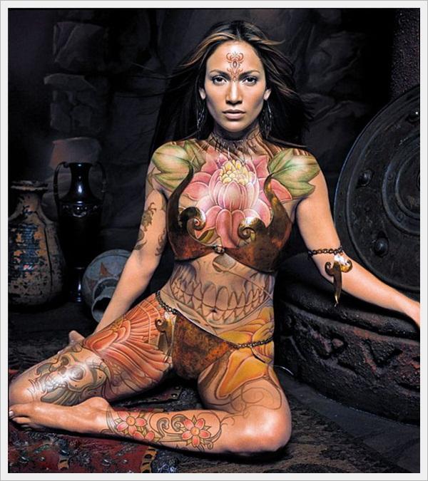 Tribal Tattoo Designs for girls (17)