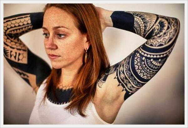 Tribal Tattoo Designs for girls (39)