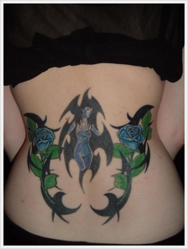 back tattoos for girls 18