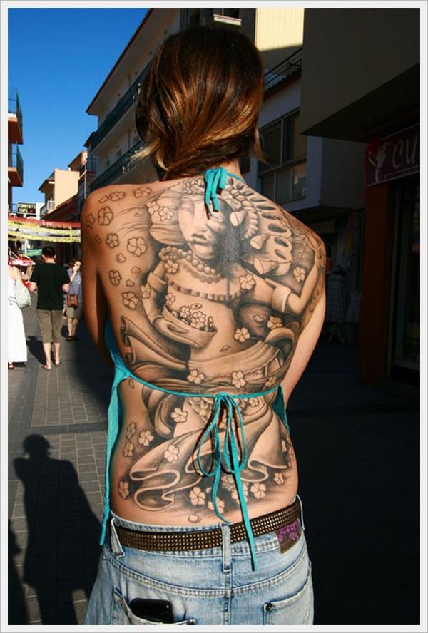 back tattoos for girls 2