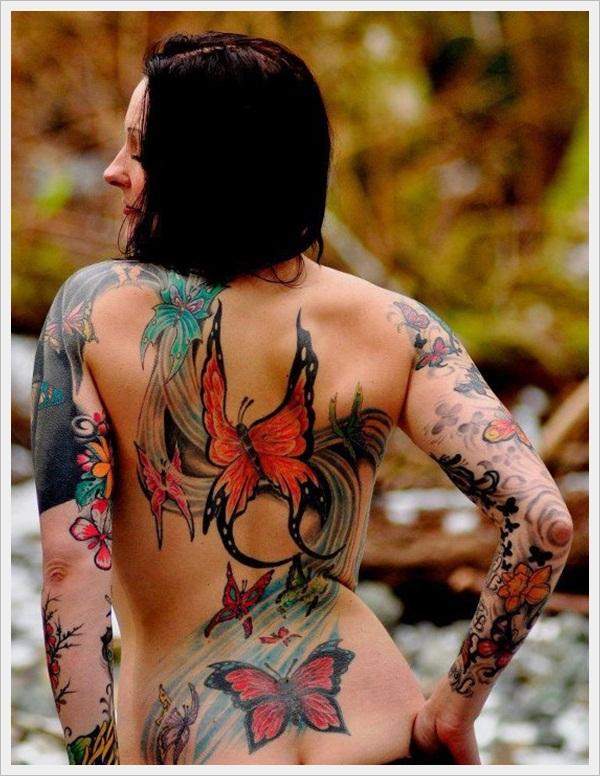 back tattoos for girls 22