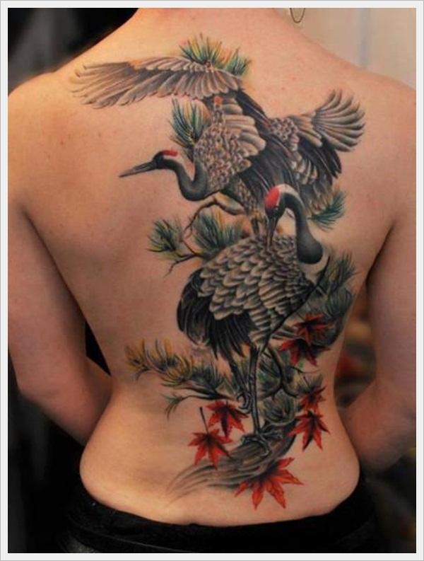 back tattoos for girls 23