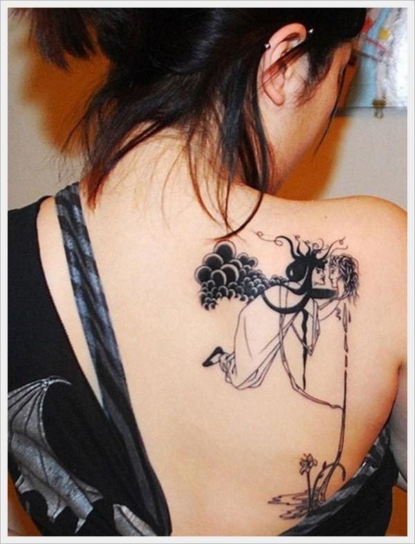 back tattoos for girls 26