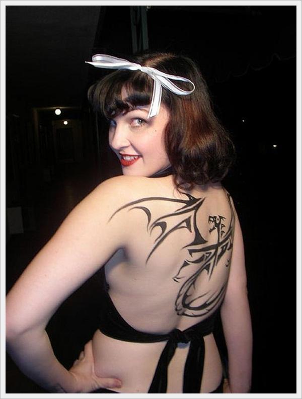 back tattoos for girls 31