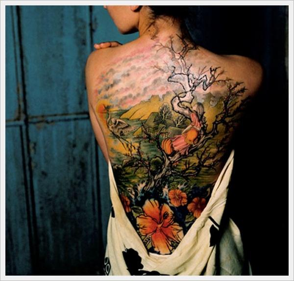 back tattoos for girls 32