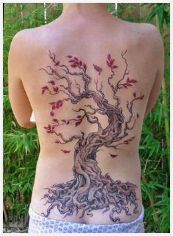 back tattoos for girls 34