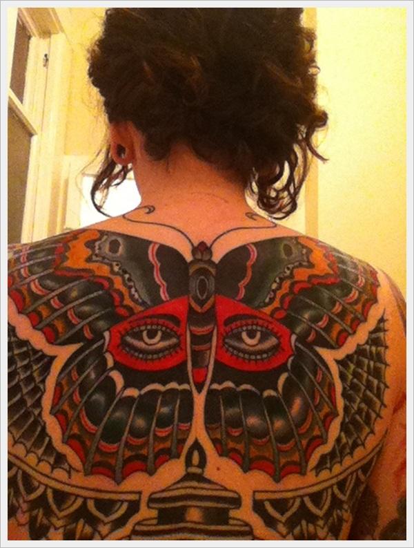 back tattoos for girls 35