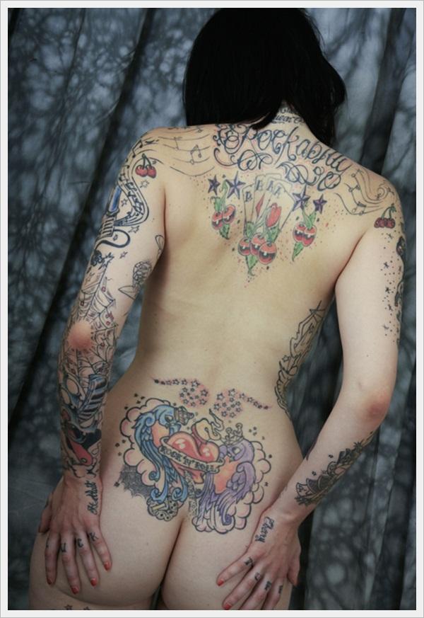 back tattoos for girls 46