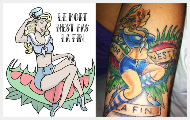 girls Tattoo Design