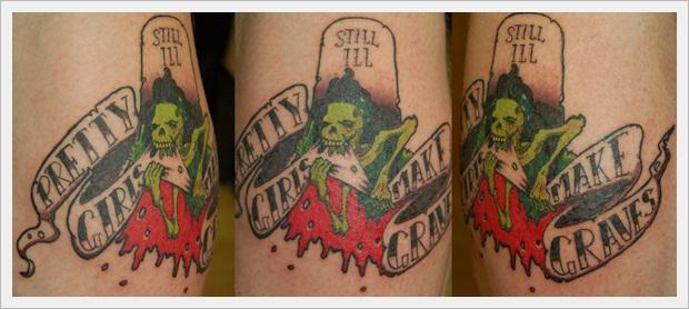 pretty girls make graves tatto