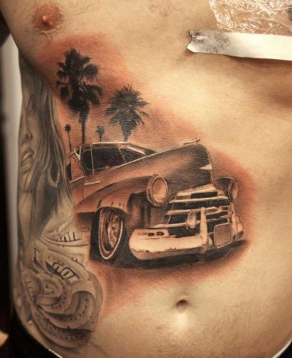 sovie tattoo cool cars - photo #17
