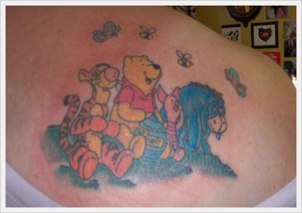 90s Cartoon Tattoo Designs