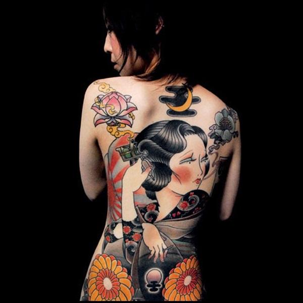 Diseños del tatuaje de Japnees (9)