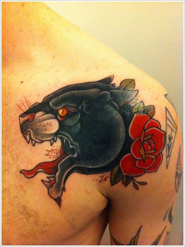 Panther Tattoo Designs (12)