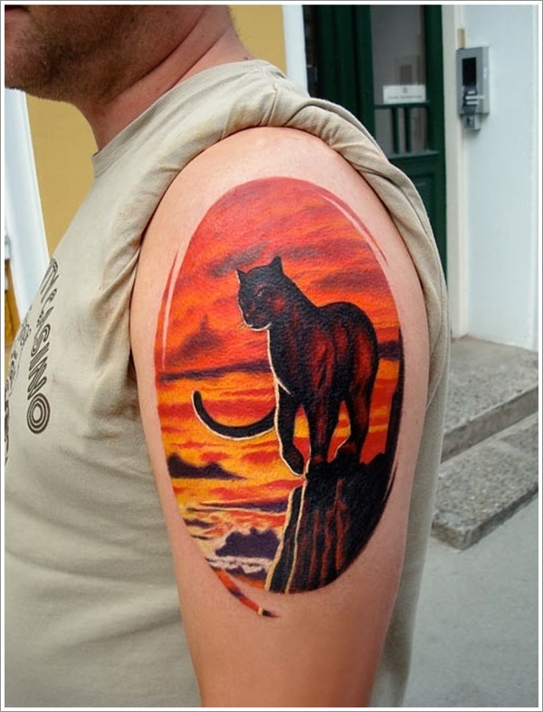 Panther Tattoo Designs (6)
