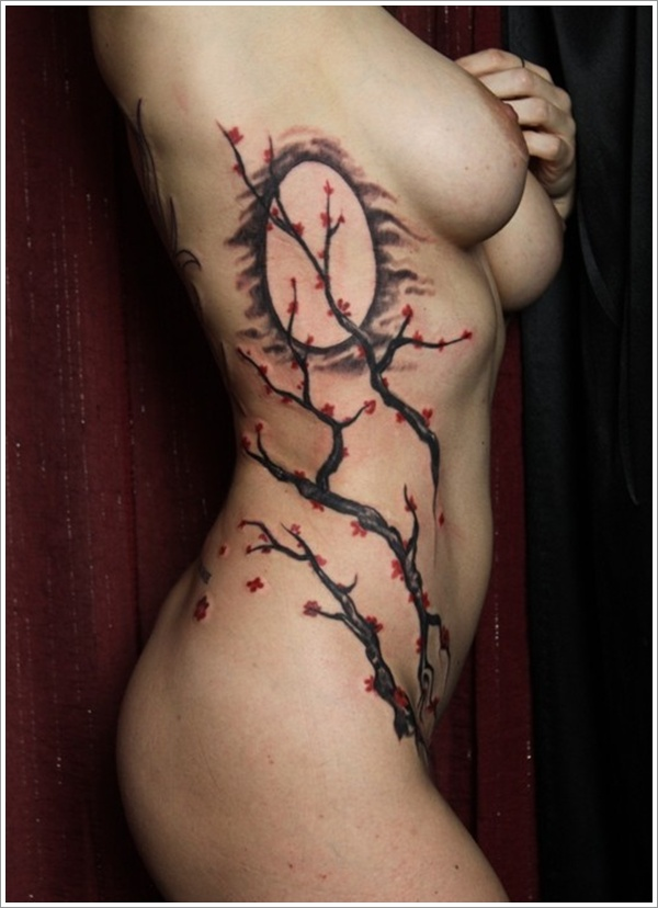 stomach Tattoo Designs (14)