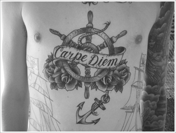 stomach Tattoo Designs (18)