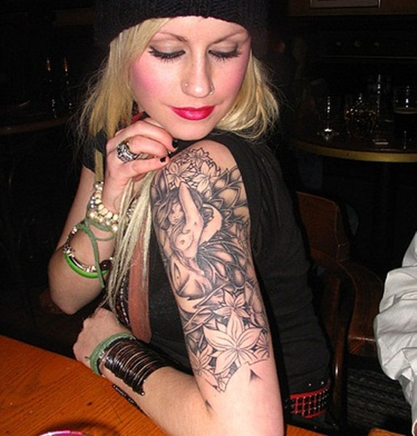 Great Arm Tattoo