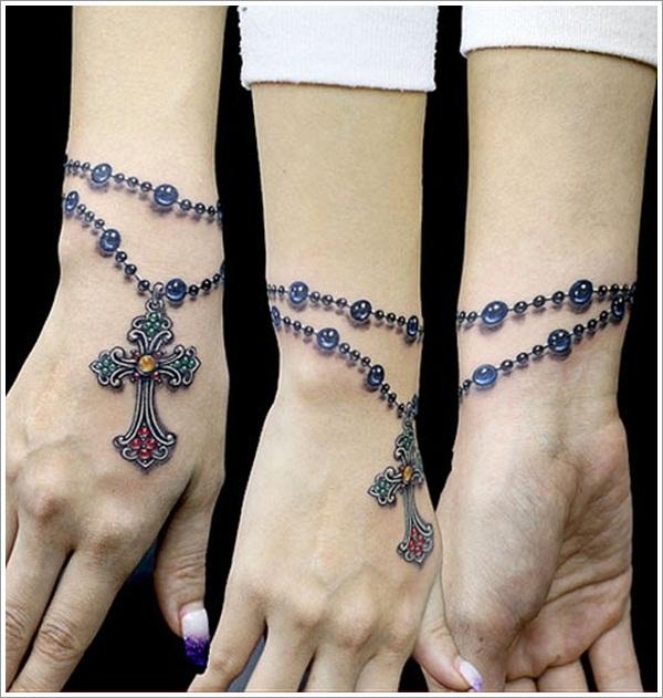 25 best bracelet tattoo designs