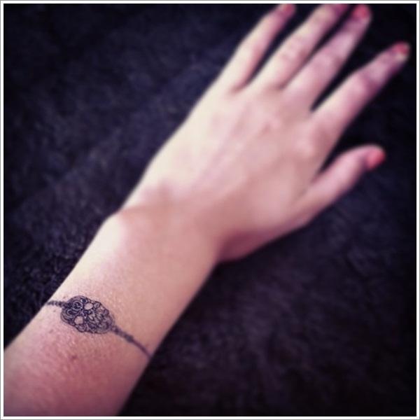 Bracelet Tattoo On Tumblr: Skull Tattoo