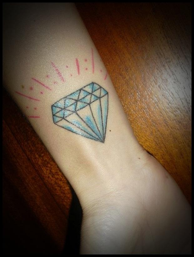 diamonds tattoos designs - photo #11